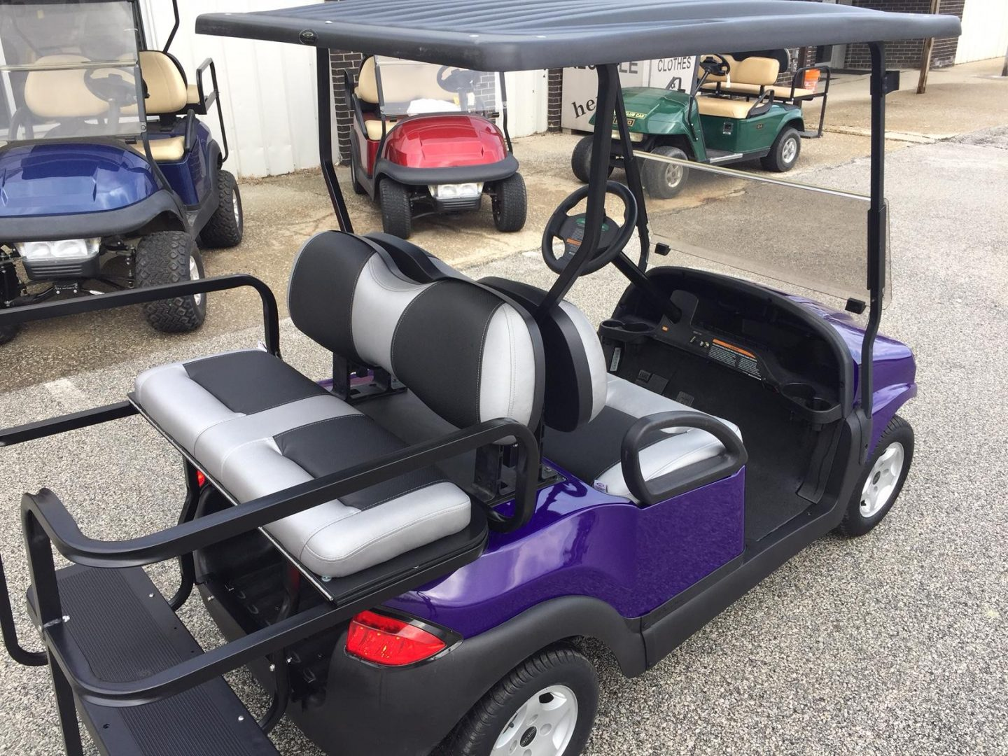 Custom Shop - Wiers Golf Carts & Utility Vehicles on mobility golf carts, handicap golf carts, senior mobility carts, medical mobility carts,