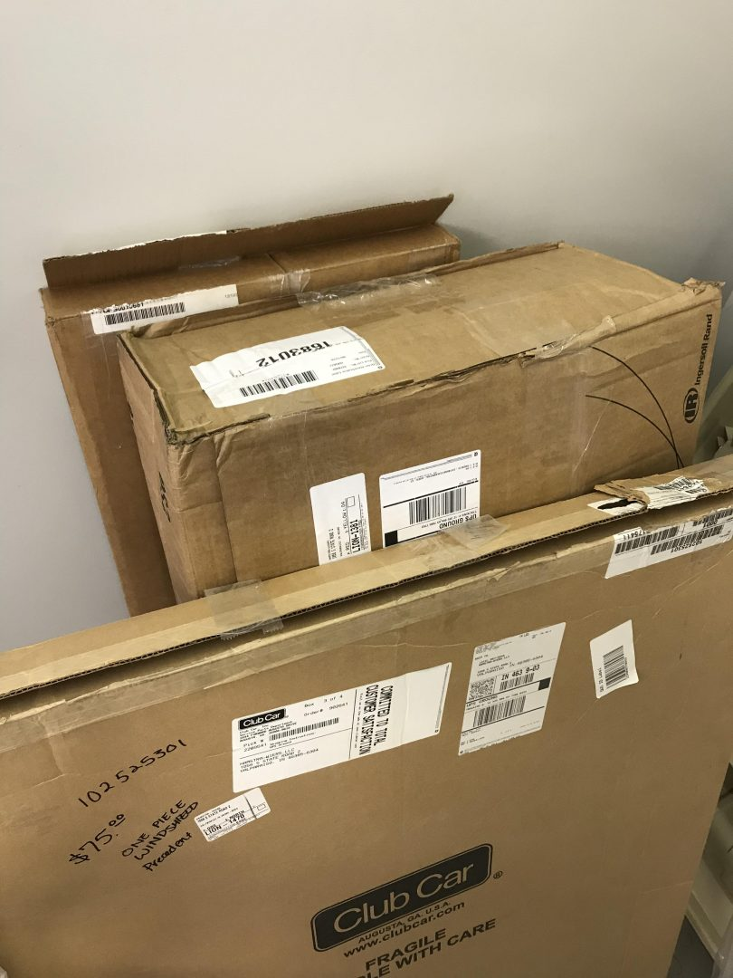 bargain sale items - Golf Club Shipping Box